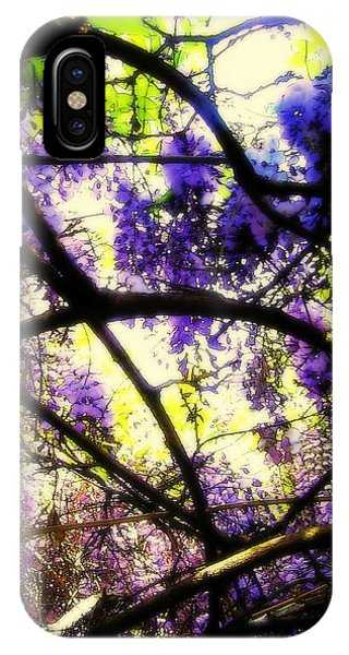 Wisteria Branches IPhone Case