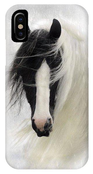 Horse iPhone Case - Wisteria  by Fran J Scott