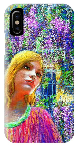 English Village iPhone Case - Wisteria by Jane Small