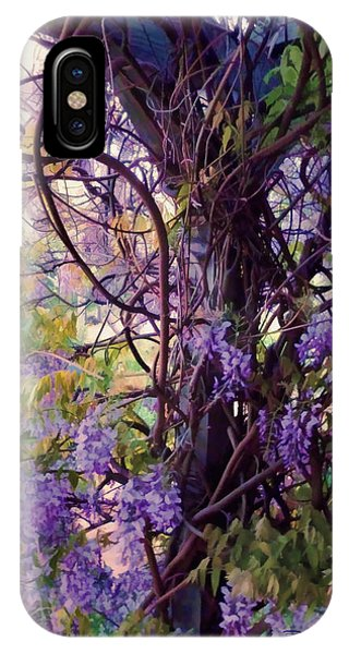 Wisteria Shade And Sun IPhone Case