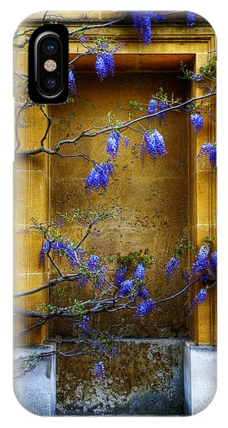 Wisteria Wall IPhone Case