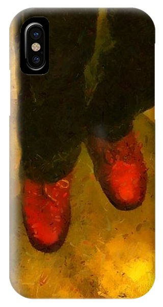 Witch Walking IPhone Case