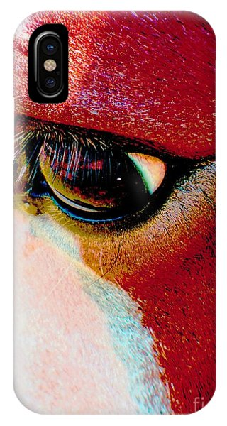 Within The Horse's Eyes IPhone Case