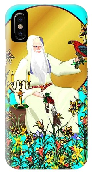 Wizard's Garden IPhone Case