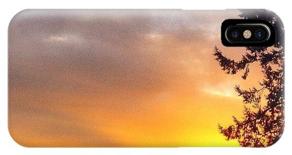 Tree iPhone Case - Woke Up To The Most Beautiful Sunrise by Blenda Studio