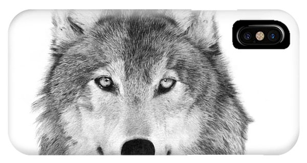 Wolf - 004 IPhone Case