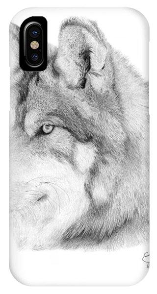 Wolf - 006 IPhone Case