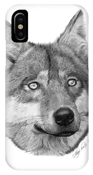 Wolf - 017 IPhone Case