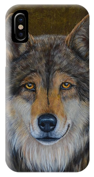 Wolf Alpha IPhone Case