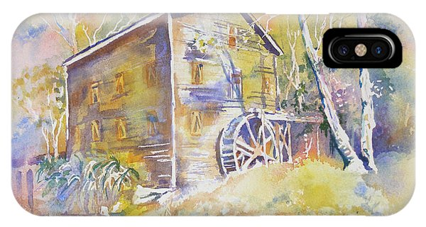 Wolf Creek Grist Mill IPhone Case