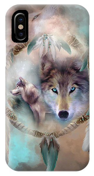 Wolf - Dreams Of Peace IPhone Case