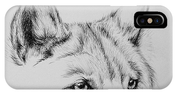 Wolf Eyes IPhone Case