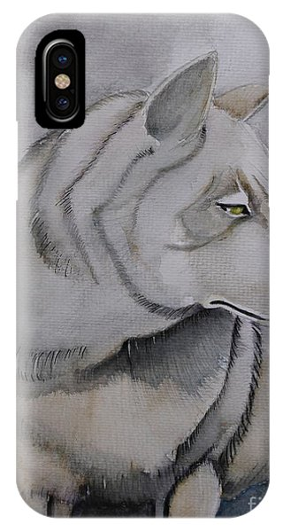 Wolf Phone Case by Grant Mansel-James