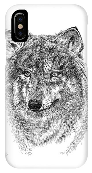 Wolf II IPhone Case