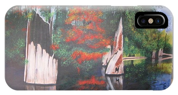 Wolf Lake On Vancouver Island  IPhone Case