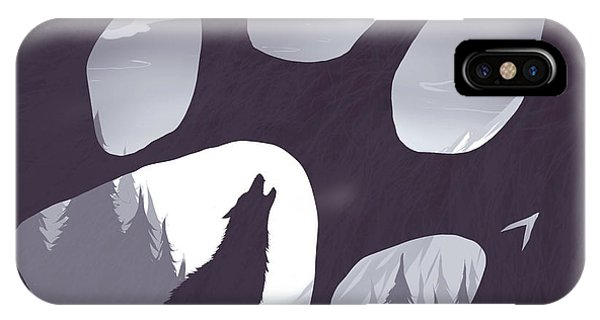 Wolf iPhone Case - Wolf Paw by Daniel Hapi