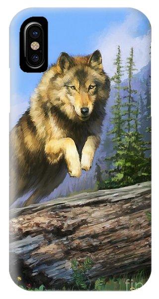 Wolf Run IPhone Case