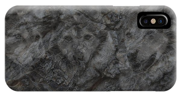 Wolf Shadows IPhone Case
