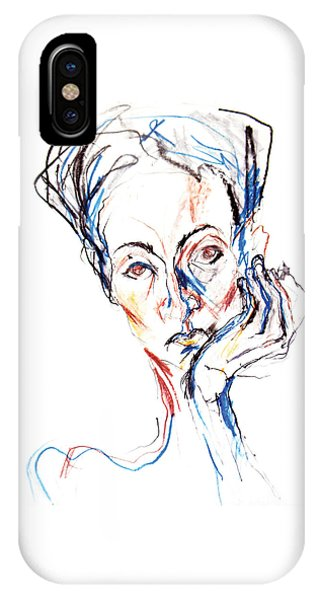 Woman Expression IPhone Case