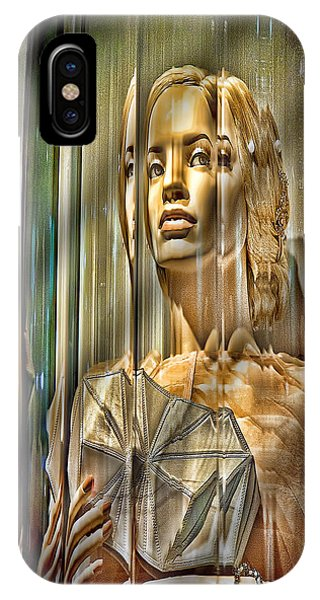 Woman In Glass IPhone Case