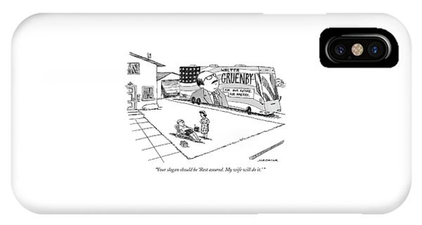 Rest Assured. My Wife Will Do It. IPhone Case