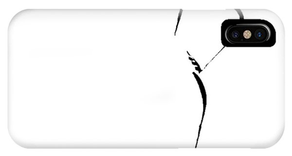Woman With Hand On Hip IPhone Case