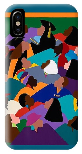 iPhone X Case - Women Lifting Their Voices by Synthia SAINT JAMES