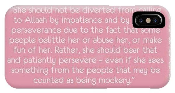 Motivational iPhone Case - #women #salaf #ibn Baz #fatwa by Umm Salwa