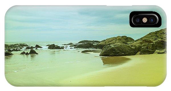 Tropes iPhone Case - Wonderful Beachlandscape by Gina Koch