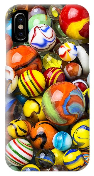 Novelty iPhone Case - Wonderful Marbles by Garry Gay