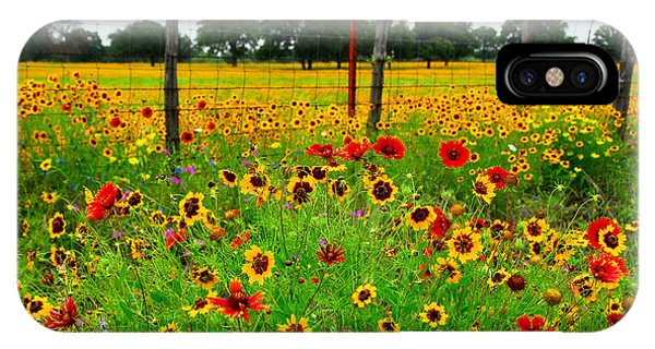 Wonderful Wildflowers IPhone Case