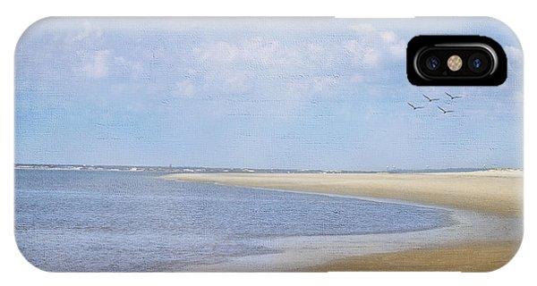 Tidal Waves iPhone Case - Wonderful World by Kim Hojnacki