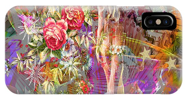 IPhone Case featuring the digital art Wonderland by Eleni Mac Synodinos