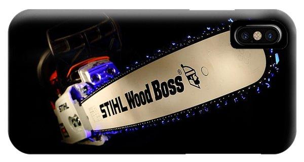 Wood Boss IPhone Case