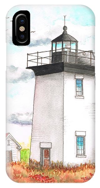 Wood End Lighthouse - Massachusetts IPhone Case