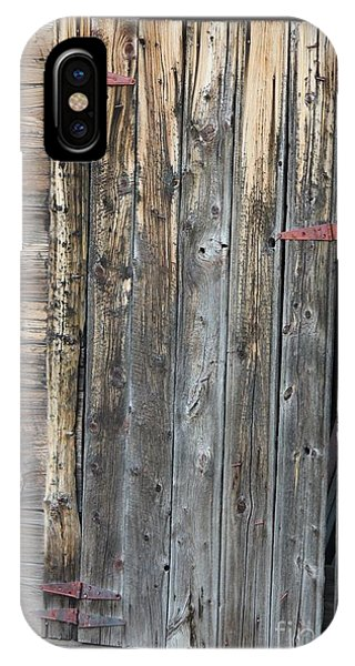 Wood Shed Door IPhone Case
