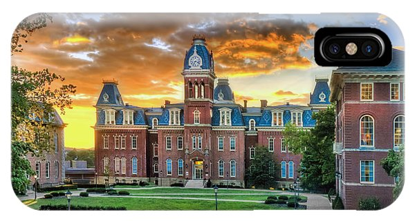 Woodburn Hall Evening Sunset IPhone Case