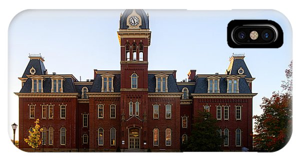 Woodburn Hall Late Afternoon Sun IPhone Case