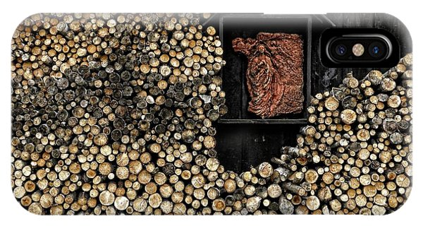 Wooden Madonna IPhone Case