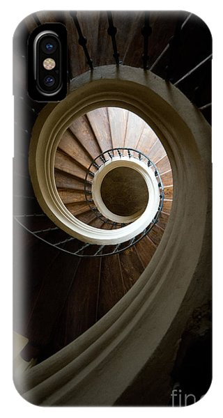 IPhone Case featuring the photograph Wooden Spiral by Jaroslaw Blaminsky