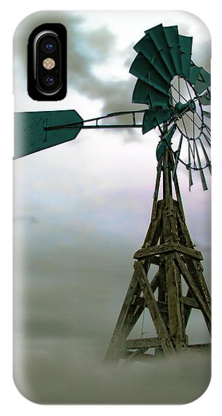 Wooden Windmill IPhone Case