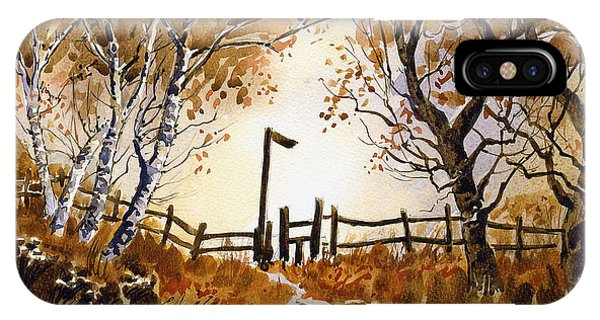 iPhone Case - Woodland Walk by Anthony Forster