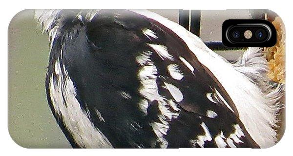 Woodpecker 105 Phone Case by Patsy Pratt