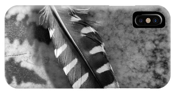 Woodpecker Feather IPhone Case