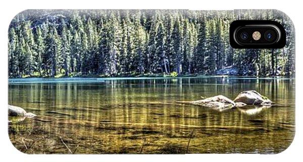Woods Lake 3 IPhone Case