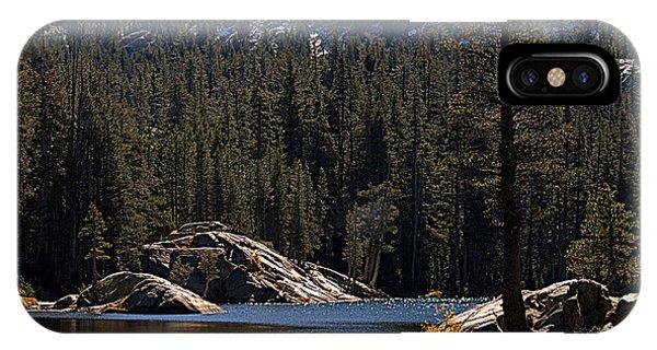 Woods Lake IPhone Case