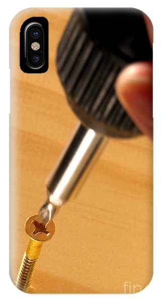 Woodworking iPhone Case - Woodworking  by Olivier Le Queinec