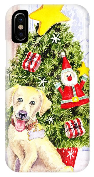 Woof Merry Christmas IPhone Case