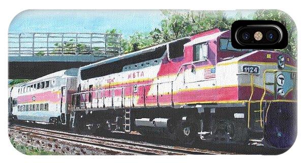Worcester Bound T Train IPhone Case