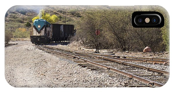Work Train In Clarkdale Arizona IPhone Case